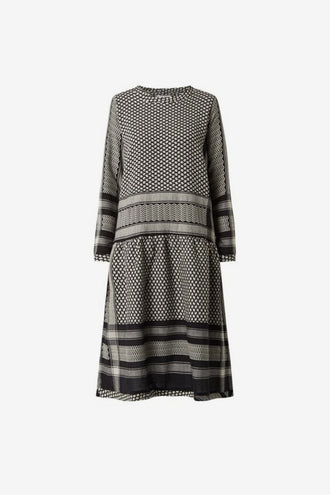 Cecilie Copenhagen Josefine Dress - Black Stone