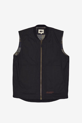 Just Another Fisherman Oil Change Vest - Black