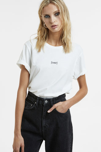 Ksubi Over Klassic SS Tee - Bone