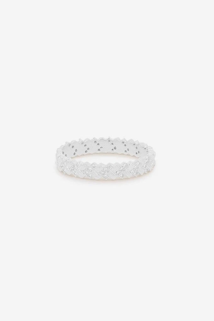 By Charlotte Dream Weaver Ring - Silver