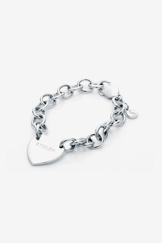 Stolen Girlfriends Club Cold Heart Bracelet - Silver