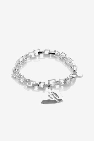 Stolen Girlfriends Club Death Metal Bracelet - Silver