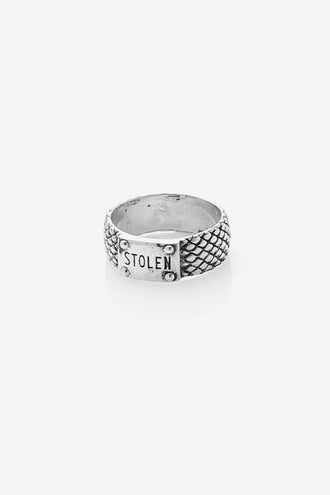 Stolen Girlfriends Club Snake Band Skinny - Silver