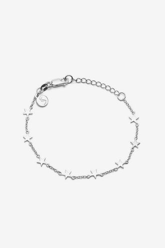 Stolen Girlfriends Club Stolen Star Bracelet - Silver