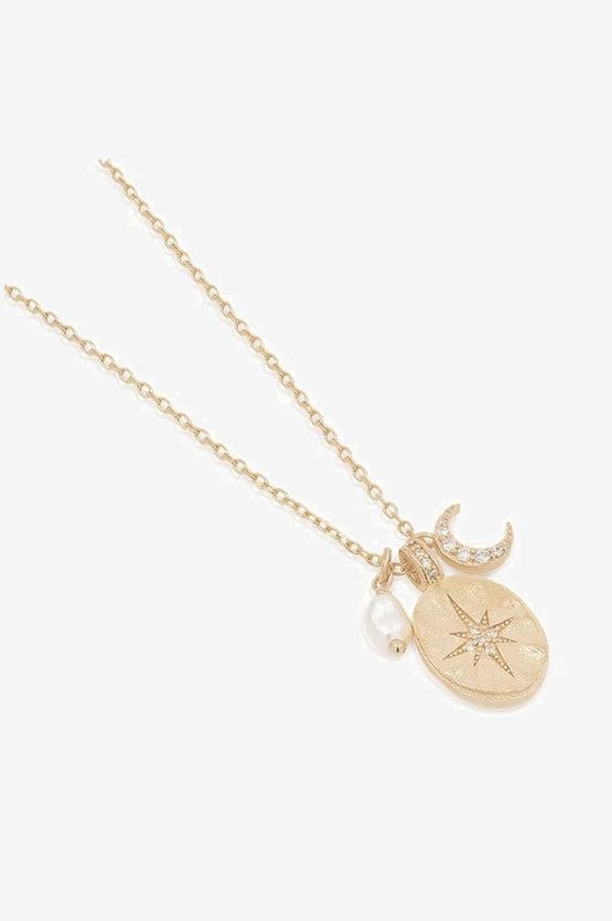 By Charlotte Dream Weaver Necklace - Gold