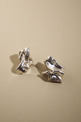 Mars Celeste Earrings - Silver