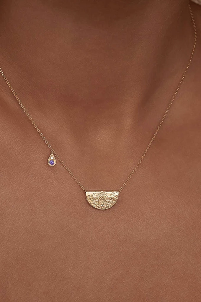 By Charlotte February Awaken Your Senses Necklace - Silver