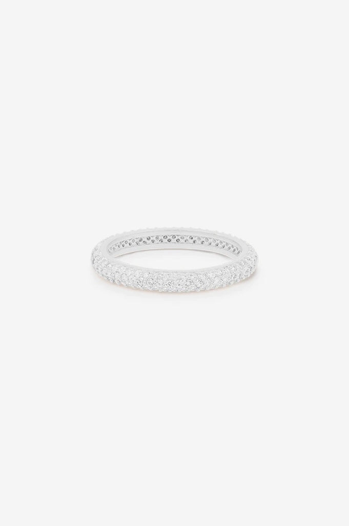 By Charlotte Light Catcher Ring - Silver