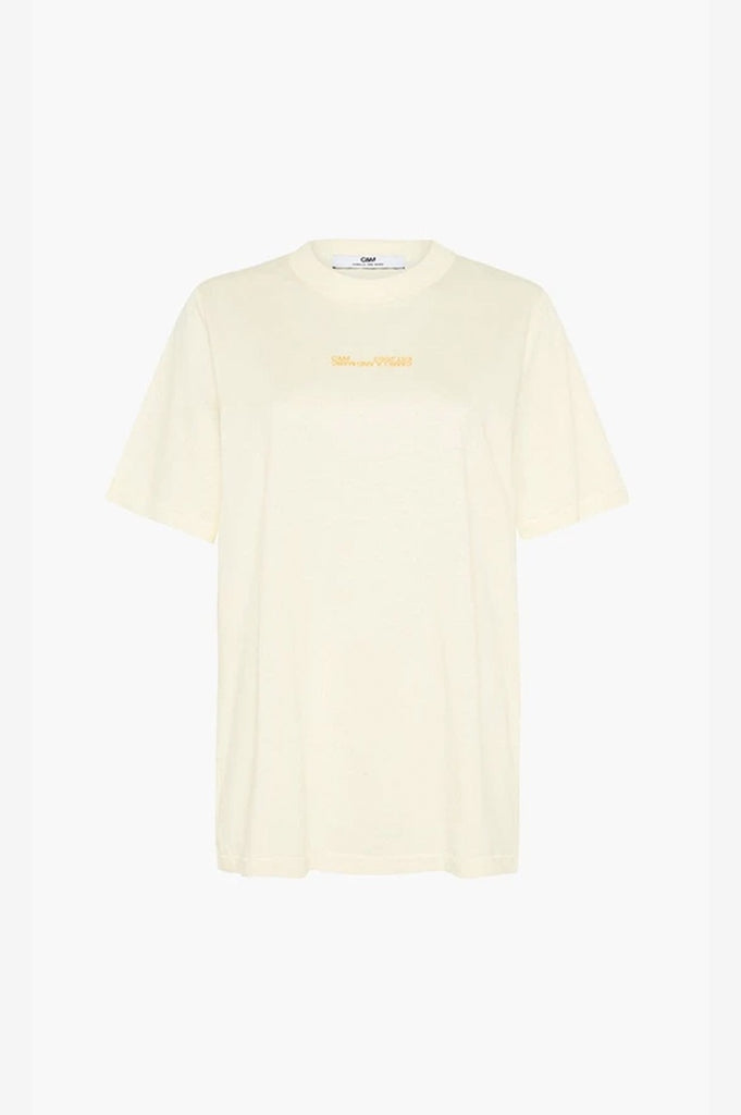 C&M Blair Logo Tee - Lemon Butter