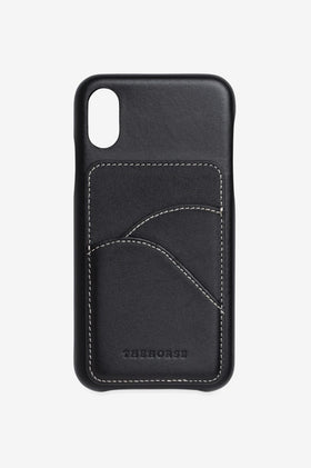The Horse The Scalloped iPhone Cover - Black