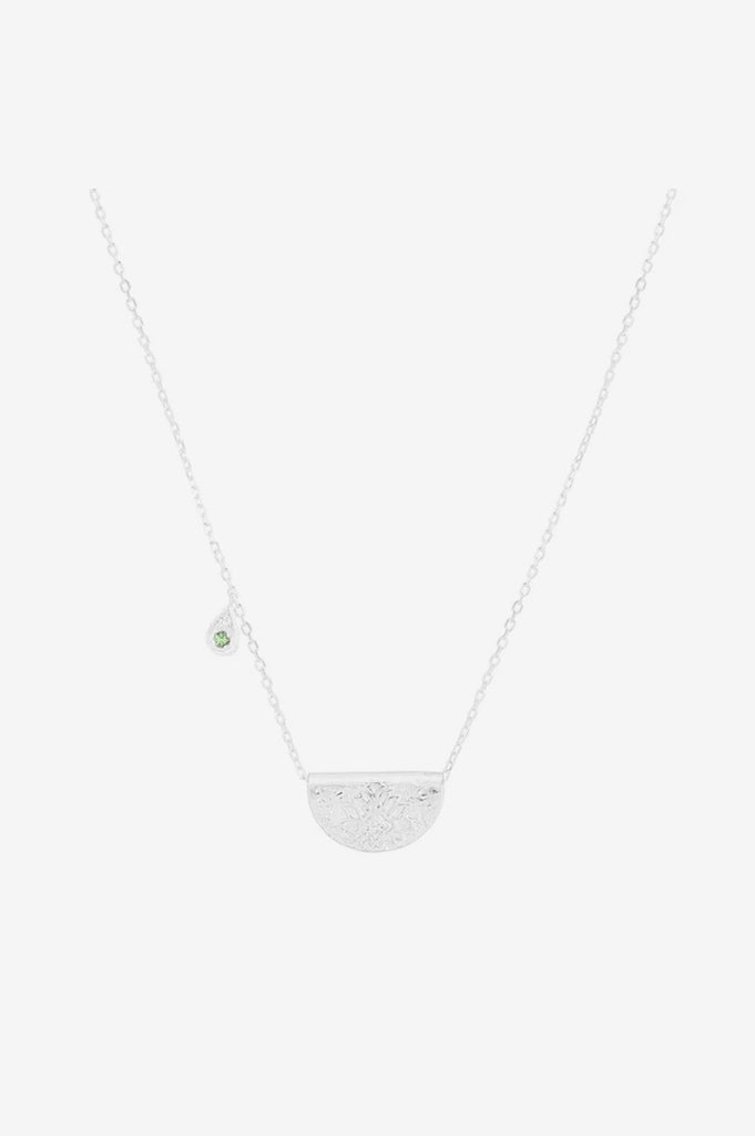 By Charlotte Nurture Your Heart Necklace - Silver