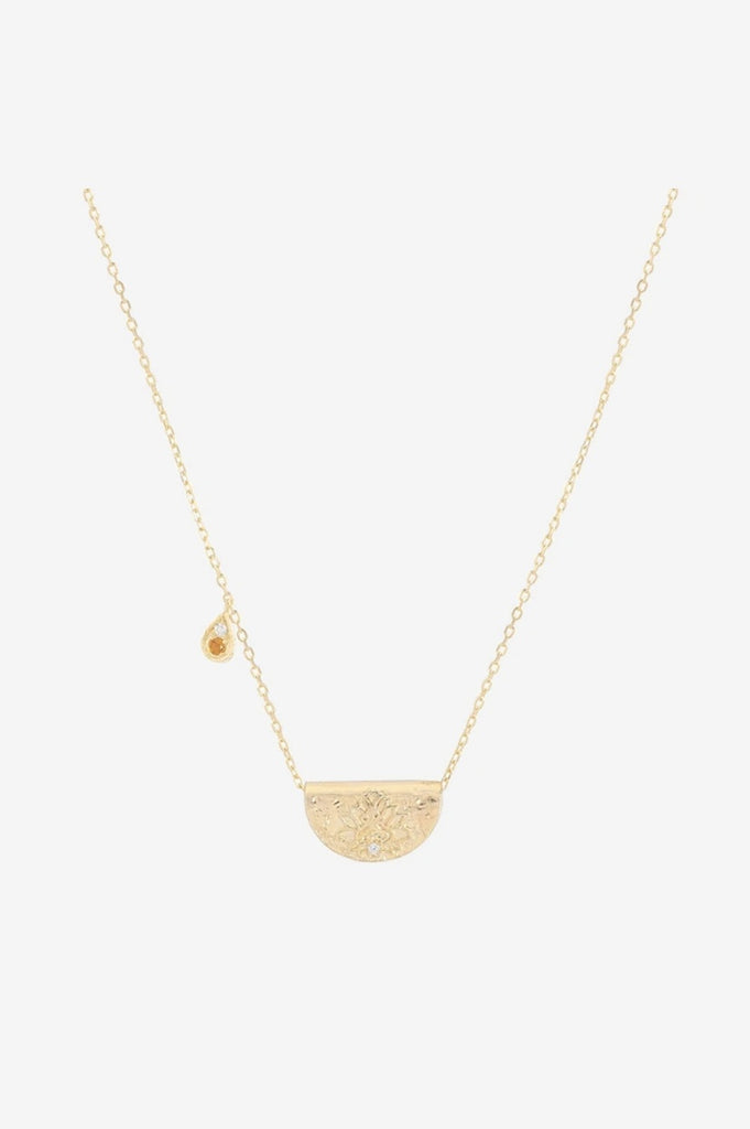 By Charlotte Illuminate Truth Necklace - Gold