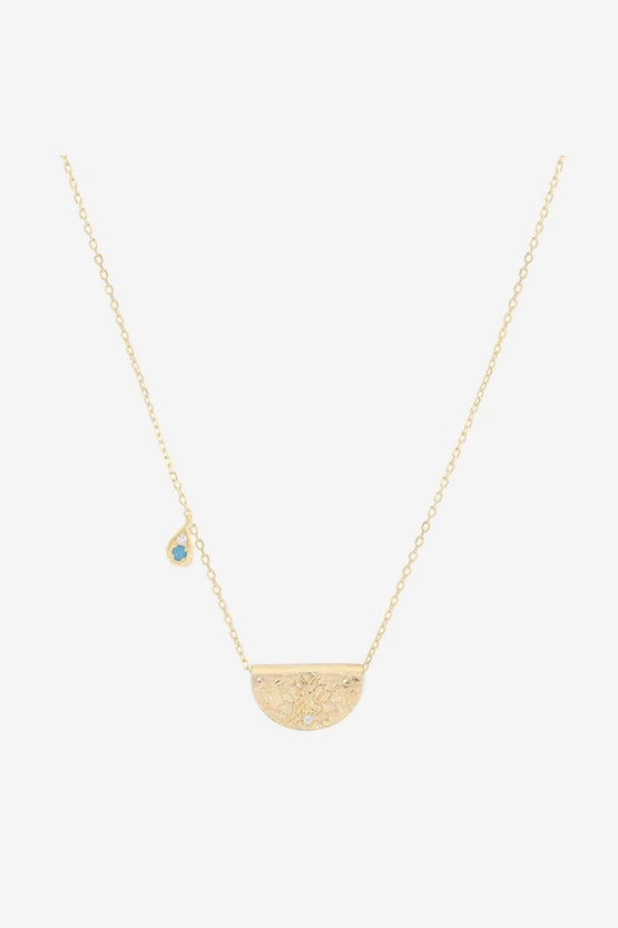 By Charlotte December Grow With Grace Necklace - Gold