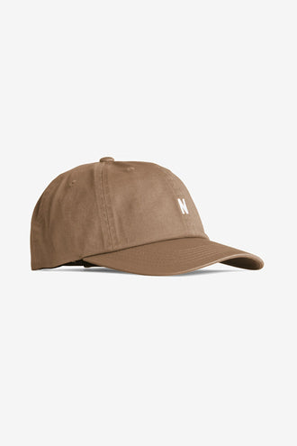 Norse Projects Twill Sports Cap - Duffle