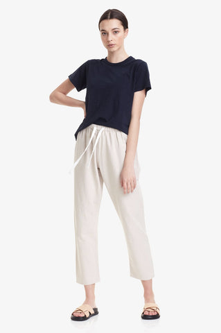 Commoners Womens Linen Pant - Natural