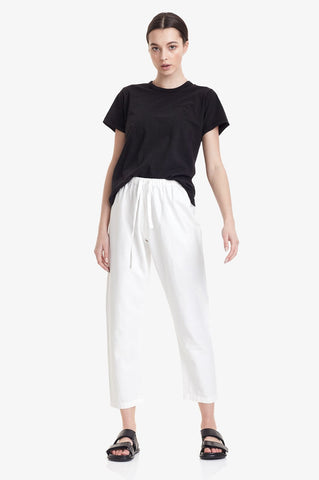 Commoners Womens Linen Pant - White