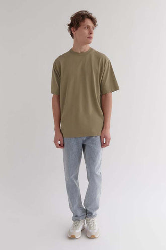 Just Another Fisherman Old Sea Dog Tee - Olive