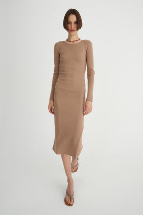 Hansen & Gretel Winslet Dress - Tan