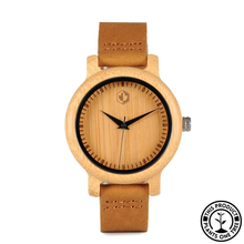 Load image into Gallery viewer, Bamboo Classic | 37 mm Wood Watch