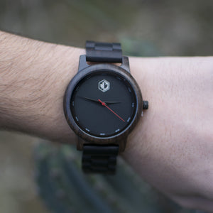 Black Maori | 45mm Wood Watch