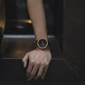 Willow | 44-38mm Wood Watch