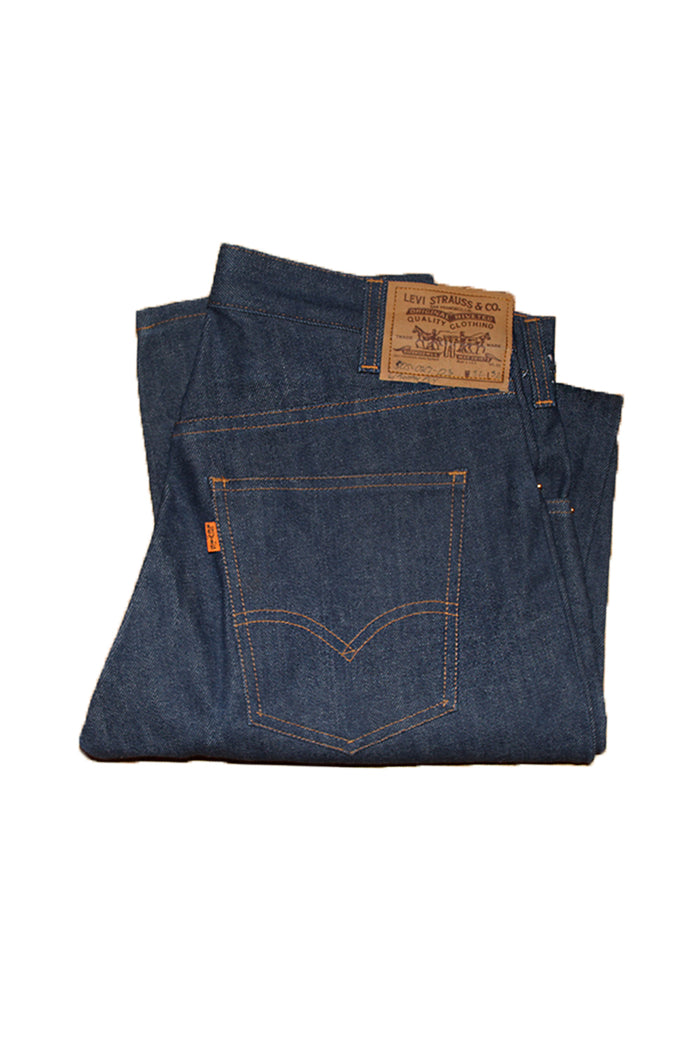 Vintage Late 70's Deadstock Levi's 505 Sample Button Fly Denim Jeans ///SOLD///