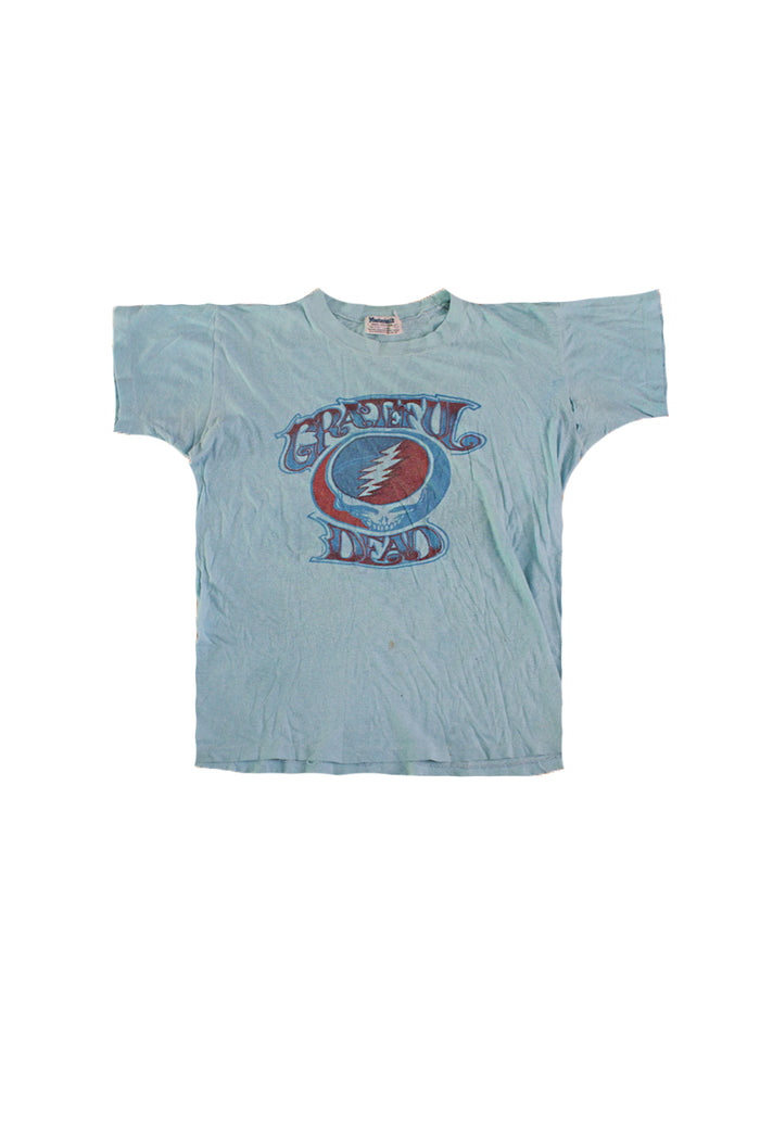 1973 vintage grateful dead t-shirt steal your face afterlife boutique