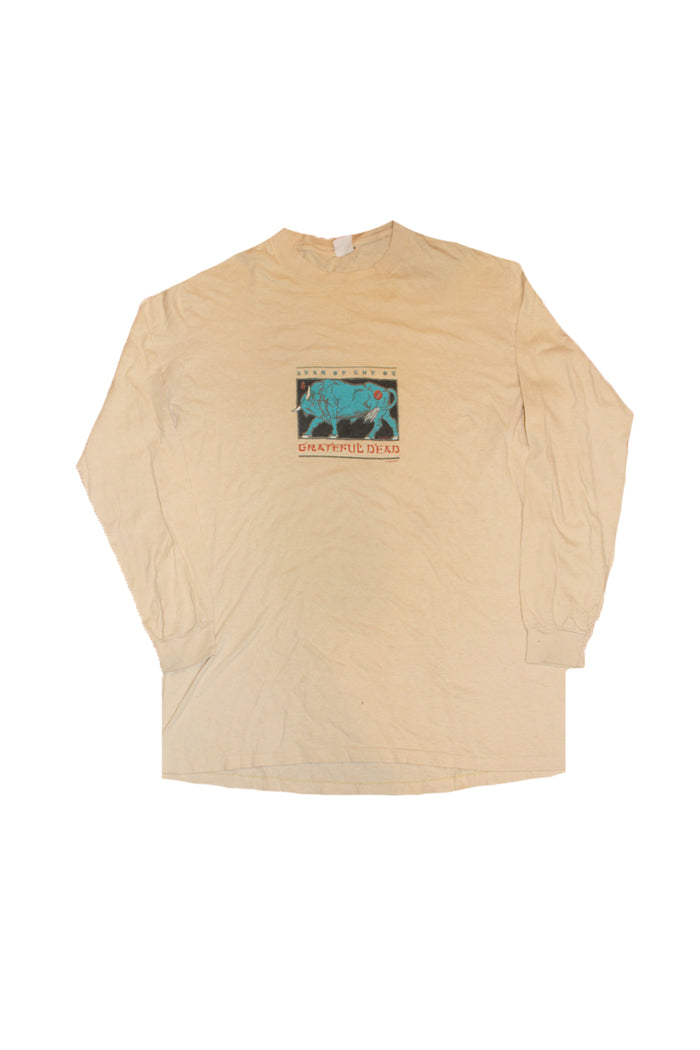 Vintage 1985 Grateful Dead Year of The Ox Long Sleeve Shirt