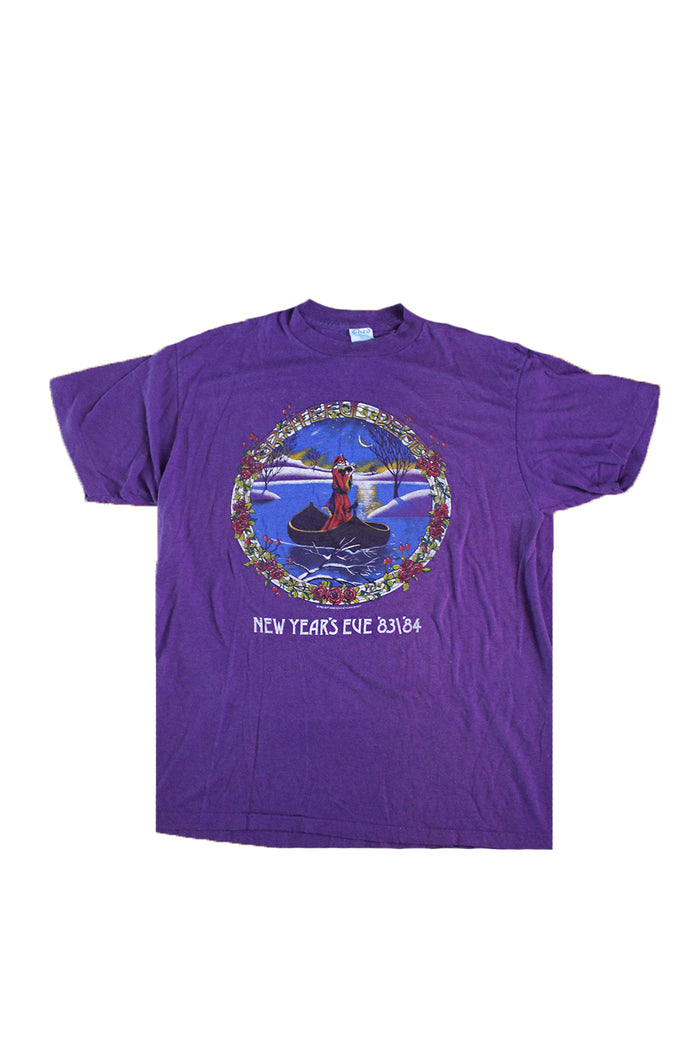 Vintage 80's Grateful Dead New Year's Eve T-Shirt