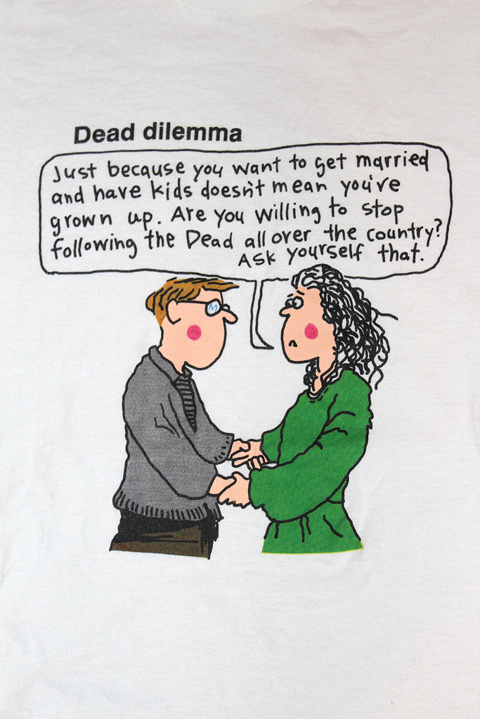 Vintage 90's Grateful Dead Dilemma T-Shirt