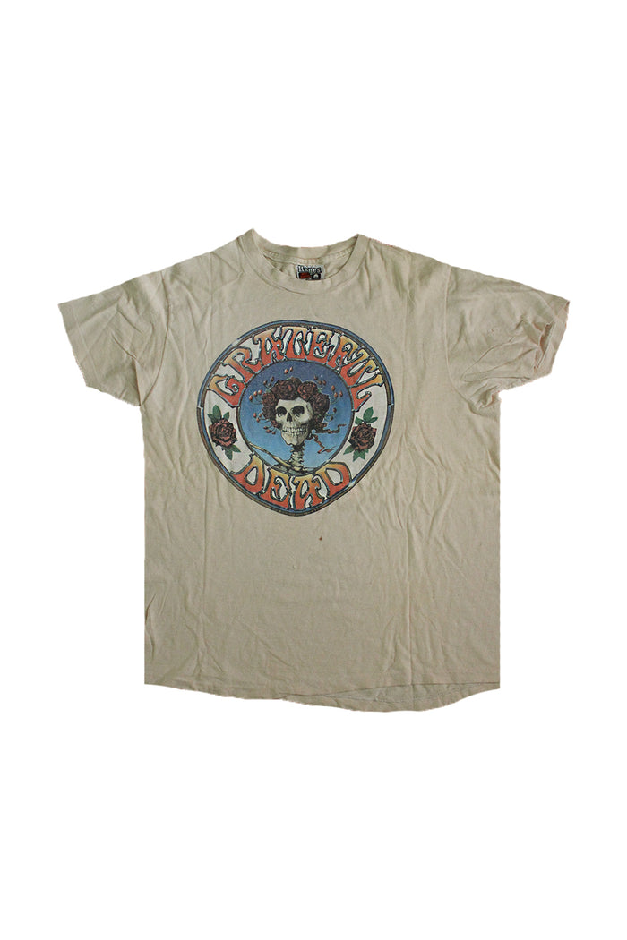1978 skull and roses grateful dead vintage t-shirt afterlife boutique