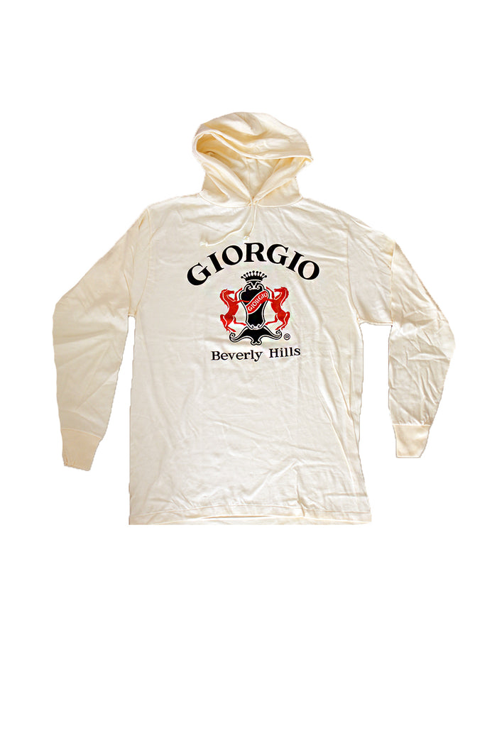 Vintage 80's 90's Deadstock GIORGIO Beverly Hills Pullover Hoodie