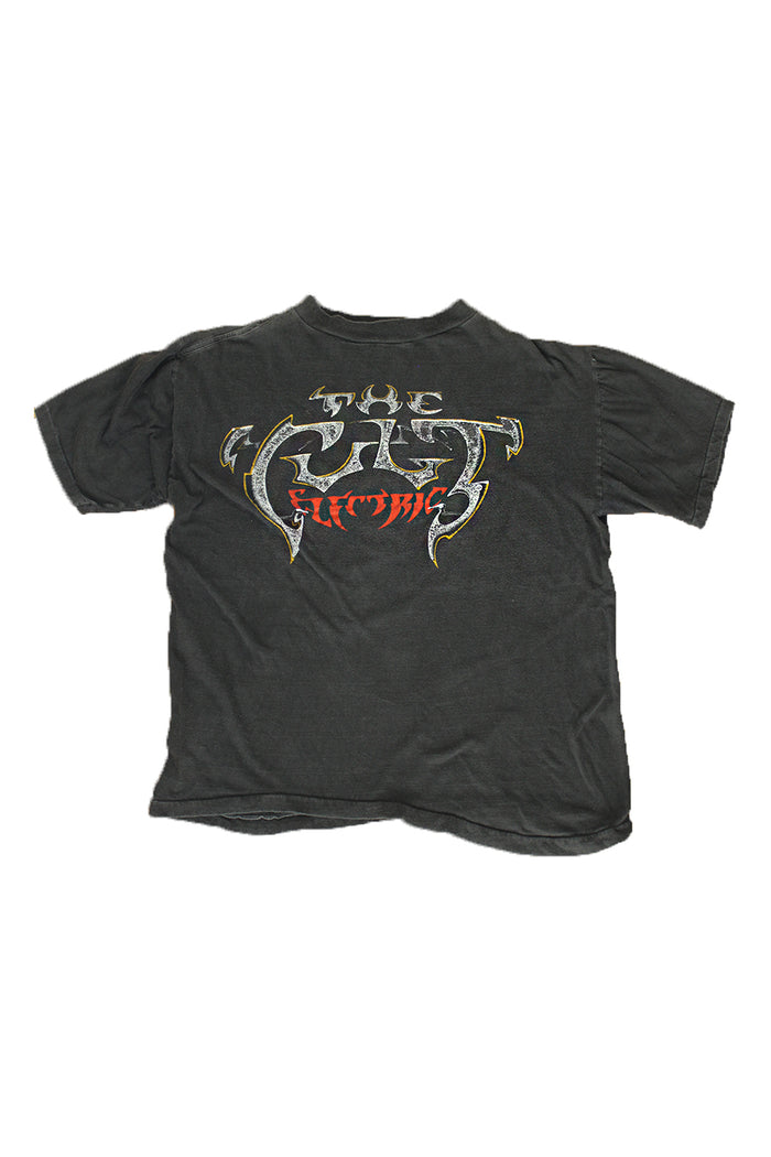 Vintage 80's The Cult Electric World Tour T-shirt