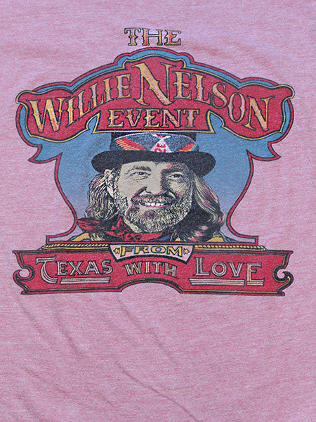 Vintage Willie Nelson T-shirt///SOLD///