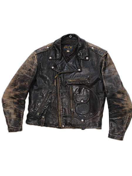 Buco J-24 1950's D-pocket Steerhide Leather Jacket///SOLD///