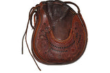 Handmade 1960's Tooled Leather Purse ///SOLD///