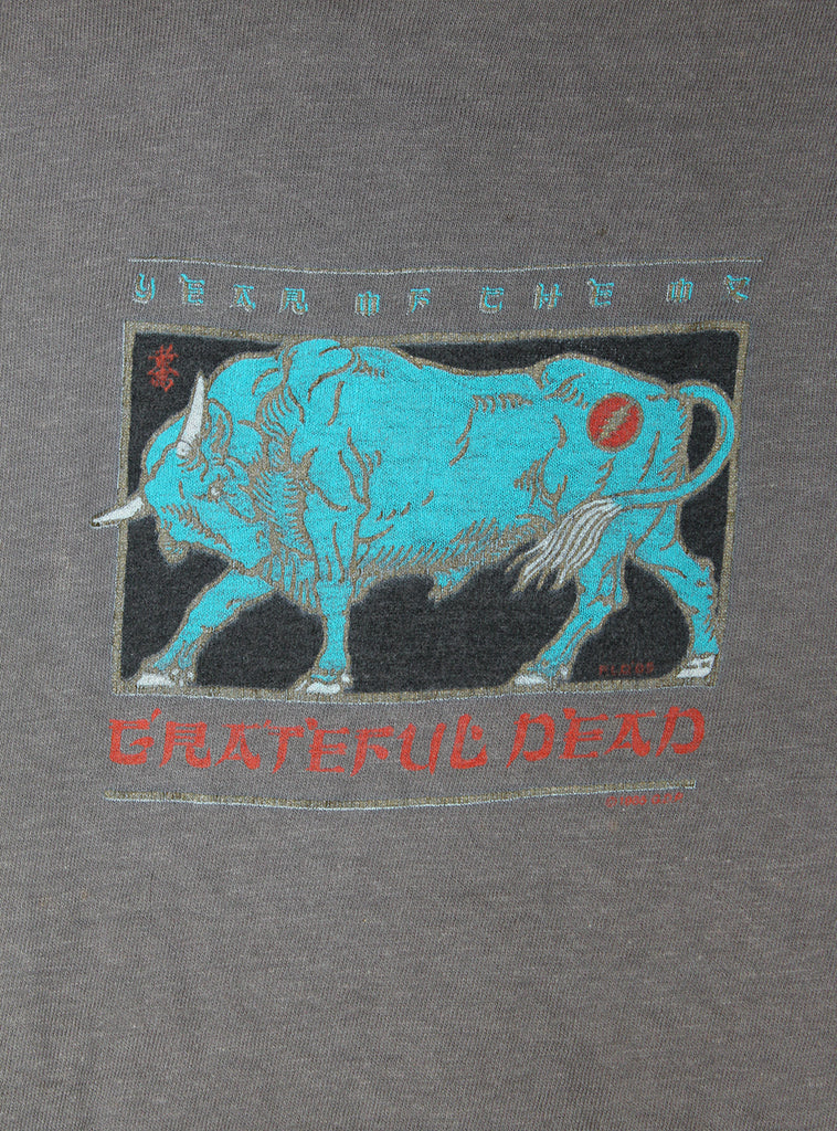 Vintage 1985 Grateful Dead Year of The Ox T-Shirt
