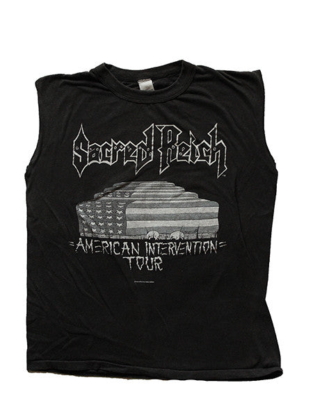 Sacred Reich American Intervention Tour 1980's