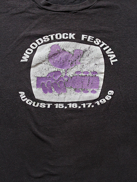 Early 1970's Woodstock Original Vintage T-shirt ///SOLD///