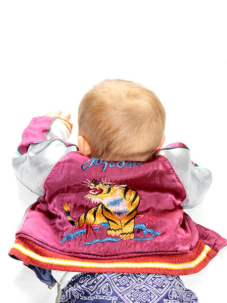 Baby Japan Souvenir Satin Jacket Reversible