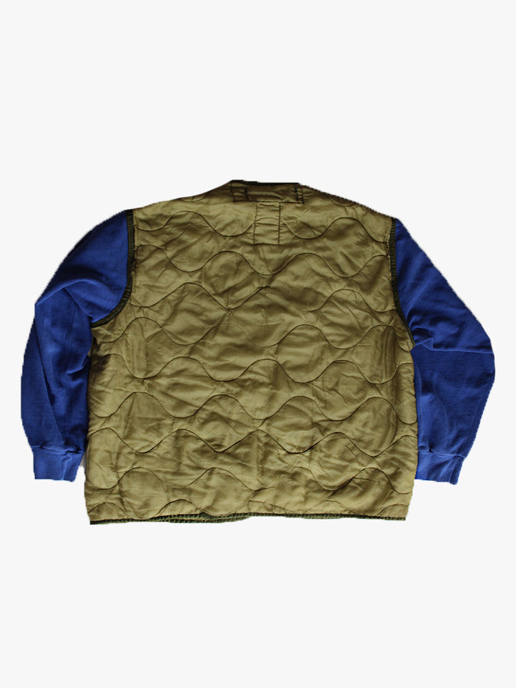 ALC-001 Reverse Weave Liner Jacket Royal