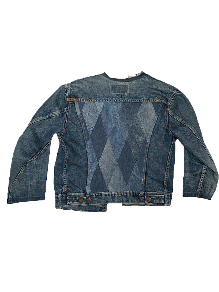 ALC-003 Levi's Big E Denim Patchwork Jacket