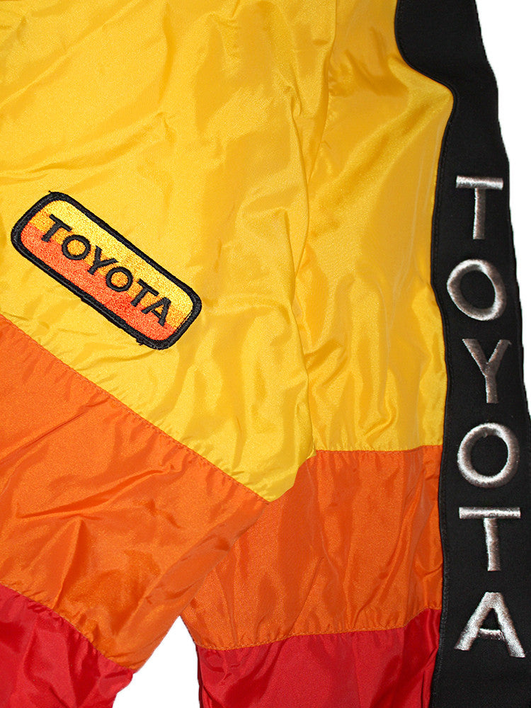 Vintage Toyota Color Block Racing Jacket