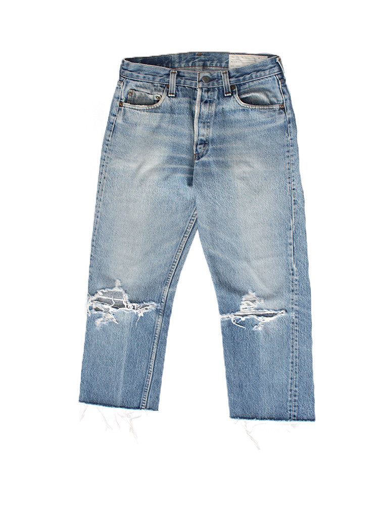 ALC-008 Blown Out Levi's 501 Made in USA