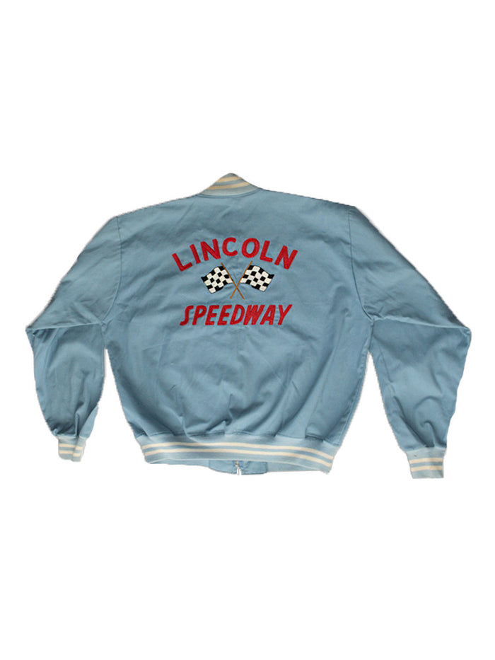 Vintage 60's Lincoln Speedway Racing Jacket