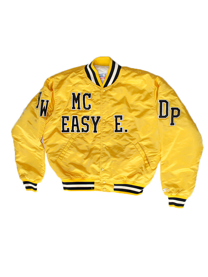 Vintage 90's STARTER Easy E. Satin Jacket