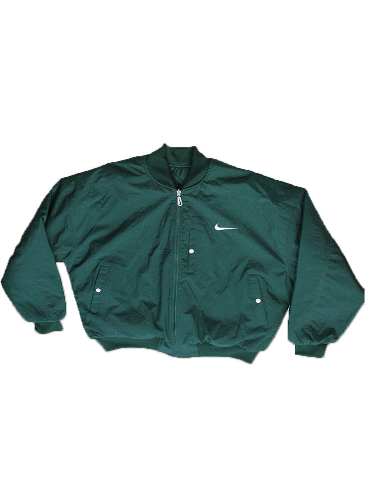 Vintage 90's Deadstock NIKE Reversible Quilted Jacket