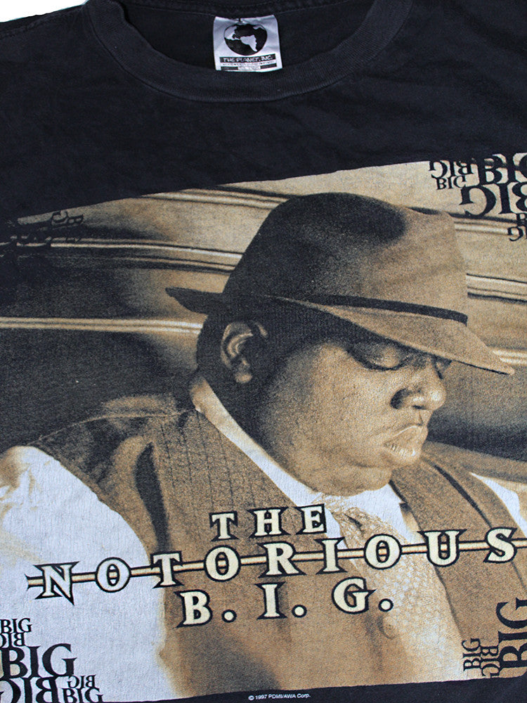 Vintage 90's Notorious B.I.G. T-shirt We Miss You