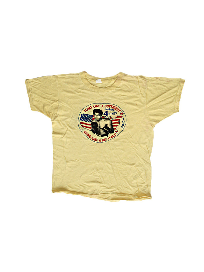 Vintage 80's Muhammad Ali Float Like A Butterfly T-shirt