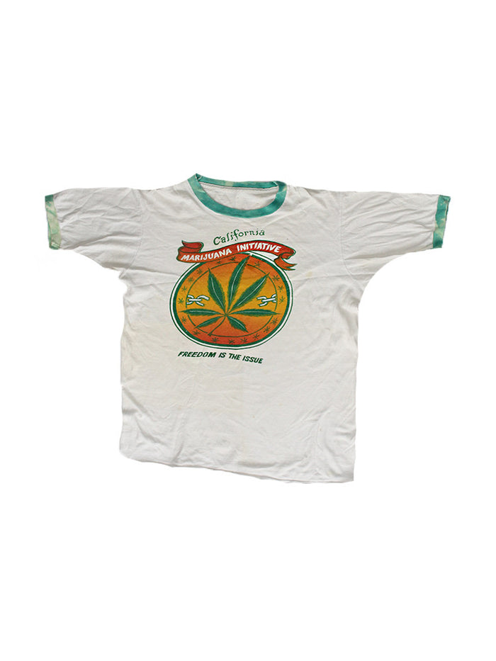 Vintage 70's California Marijuana T-Shirt